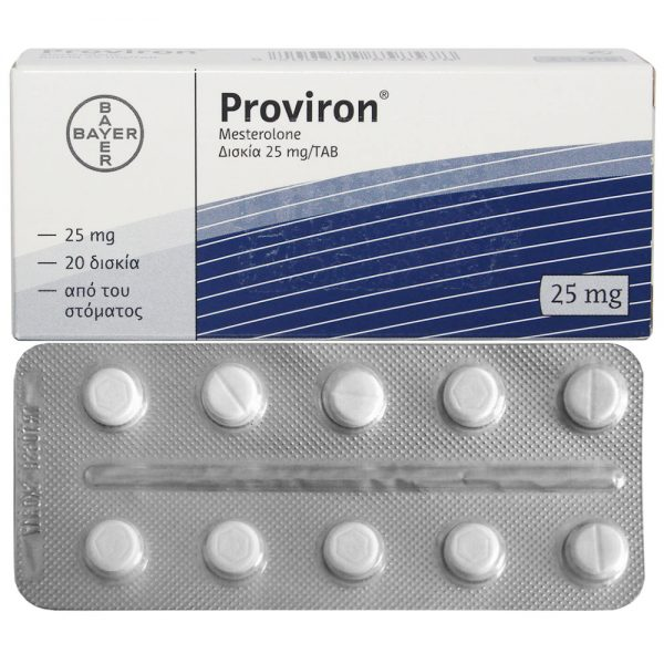 Image result for proviron (mesterolone)