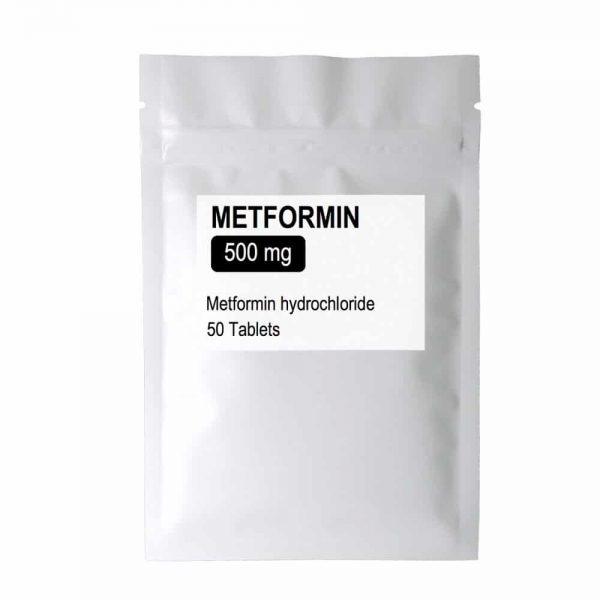 Metformin – 500mg x 50 Tablets
