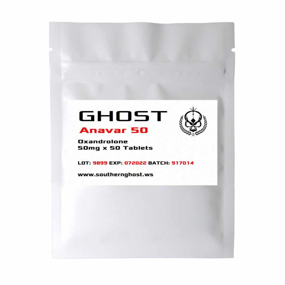 Ghost Anavar - 50mg x 50 Tablets